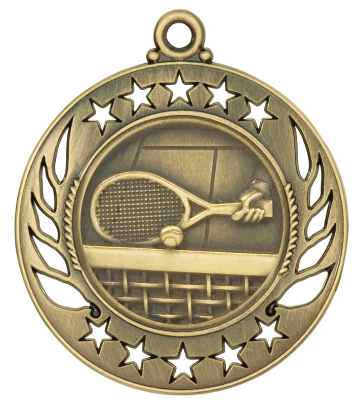 2.25 inch gold medallion - GM101G