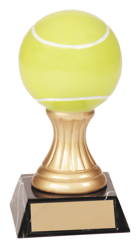 Gold pedestal resin award - JDS101