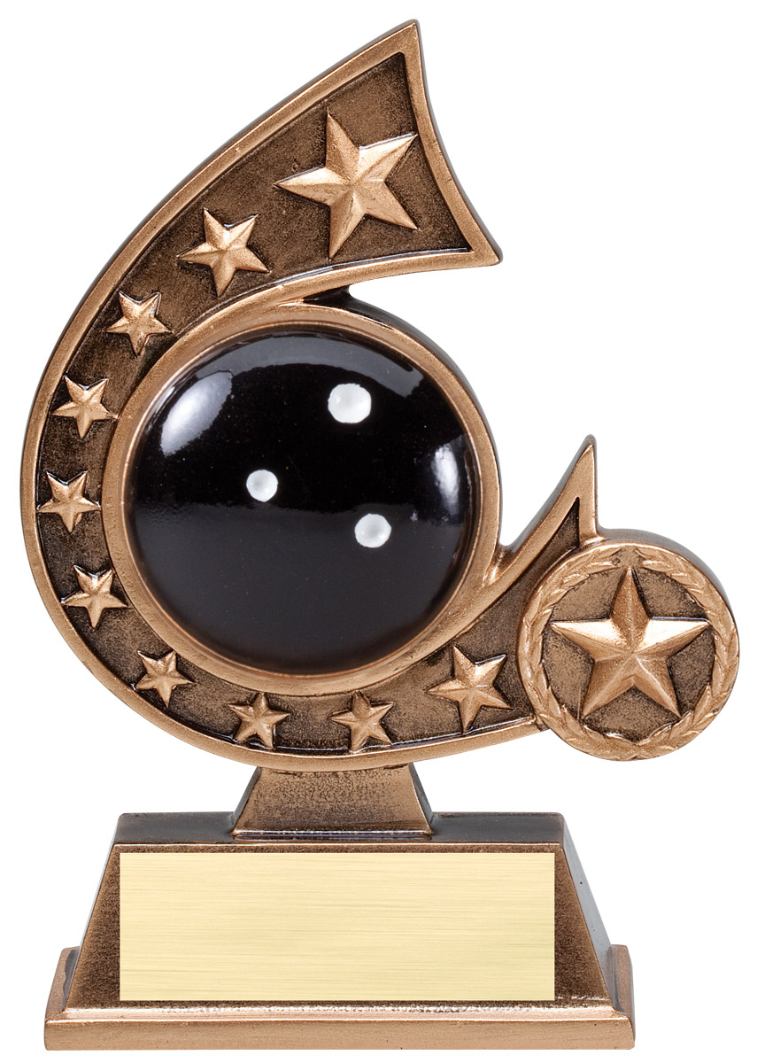 5.75 inch comet resin award - RCS Series
