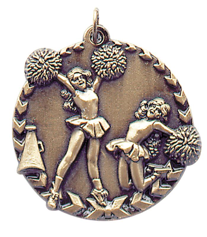 1.75 inch bronze millennium medals - STM1200B