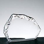 7'' x 5'' optical crystal iceberg award - ICE02