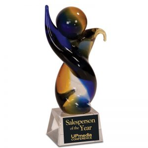 Colored art glass award -AGS11