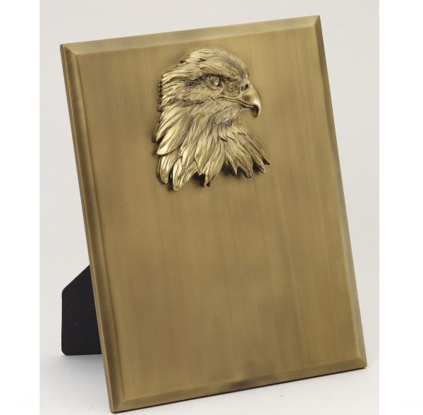 8'' x 10'' eagle resin stand-up plaque - AE220