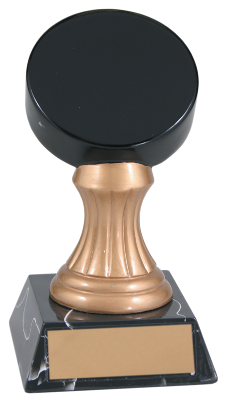 Gold pedestal resin award - JDS101