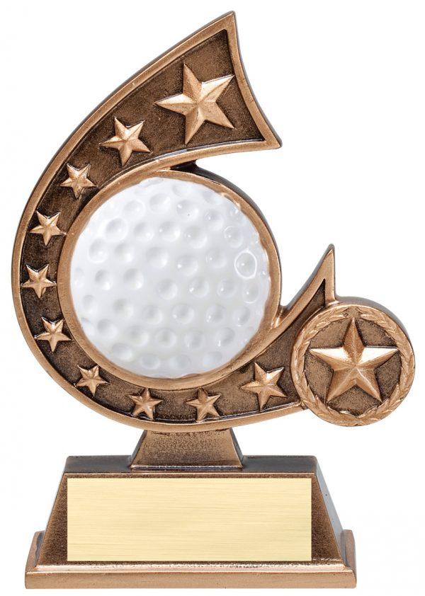 5.75 inch comet resin award - RCS Series