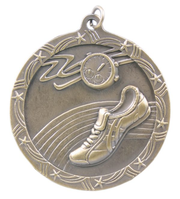 2.5 inch shooting star medal - ST58G